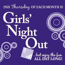 Girl's Night Out in Anoka, Minnesota